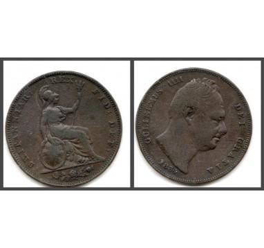 Вильям IV. Фартинг 1834г
