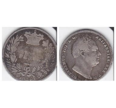 Вильям IV. 6 пенсов 1834г.