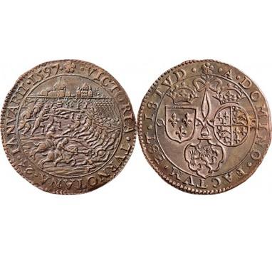 1597год. Голландия. Битва при Турноуте
