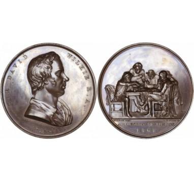 1861 год.  SIR DAVID WILKIE: LAUDATORY MEDAL
