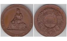 """1844г. Германия  """"Медаль выставки"""""""