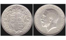 Георг V. Пол кроны 1913г.