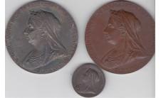 1897г. 60 лет правления (официальные медали)