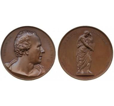 1864 год.  JOHN BACON: LAUDATORY MEDAL.