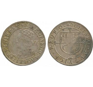 1638-39г.г. Карл I 6 пенсов