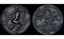 """1960г. Италия """"Олимпийская медаль""""."""
