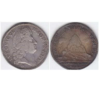 Франция. Медаль 1690г.