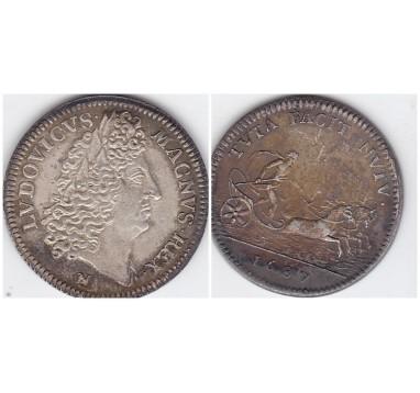 Франция. Медаль 1687г.