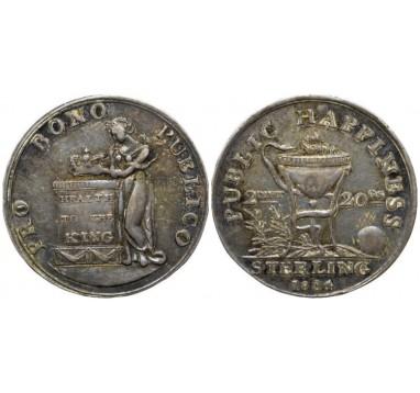 1804 год. Георг III: Хвалебная медаль.