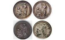1697г. Голландия.  Договор в Рисвике (6  вариантов)