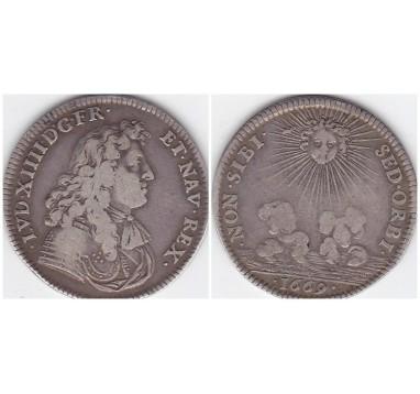 Франция. Медаль 1669г.