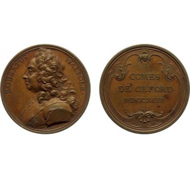 1744 год. Роберт Валпол,