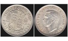 Георг VI. Пол кроны  1942г.