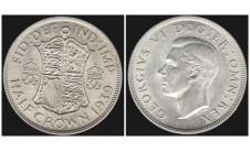 Георг VI. Пол кроны  1939г.