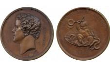 1845 год. SIR JOSHUA REYNOLDS: LAUDATORY MEDAL