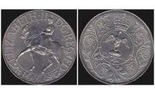 Елизавета II. 25 пенсов 1977г.