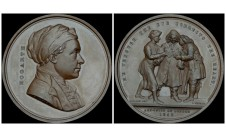 1848 год. William Hogarth: Laudatory medal