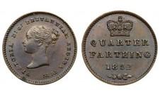 1852г. 1/4 фартинга