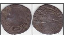 Елизавета I. 1/2 гроута (2 пенса) 1591-94г.г.