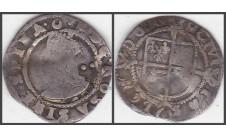 Елизавета I. 1/2 гроута (2 пенса) 1587-90г.г.