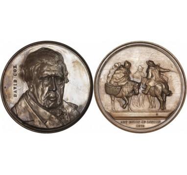 1879 год.  DAVID COX: LAUDATORY MEDAL