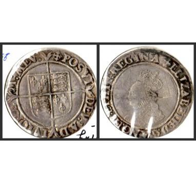 Елизавета I. Шиллинг 1560-1561 г.г.