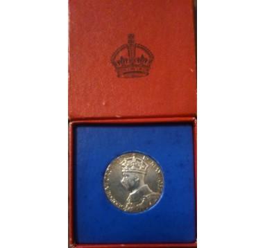 1937 год. Коронация Георга VI. Официальная медаль
