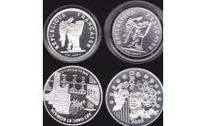 Франция. Четыре монеты.
