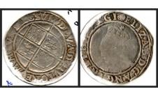 Елизавета I.  Шиллинг 1584-1586г.г