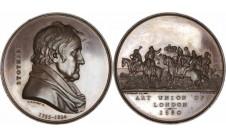 1880 год.  THOMAS STOTHARD: LAUDATORY MEDAL