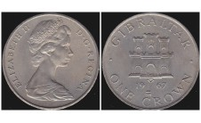 Гибралтар. Крона 1967г.