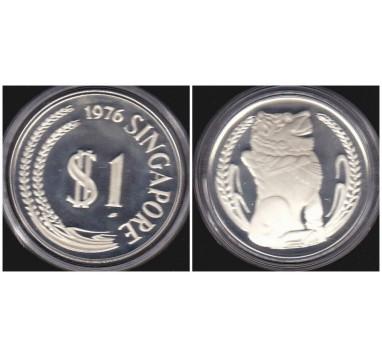 Сингапур.  Доллар 1976г.