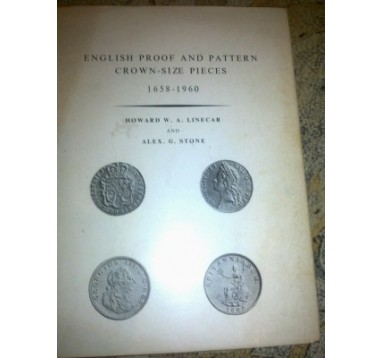 "W. Howard  ""English proof & pattern crown-size pieces 1658-1960г.г."""