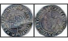 Елизавета I. 6 пенсов 1564г.