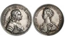 1734г. Голландия. Свадьба Вильяма, Принца Оранского и Принцессы Анны.