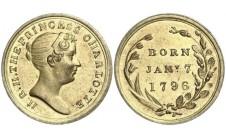 1796 (1817г.) Рождение  принцессы Шарлоты.