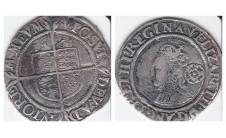 Елизавета I.  6 пенсов 1561г.