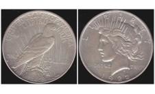 США. Доллар 1922 г.