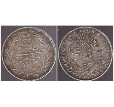 Египет 5 кириш 1909г.