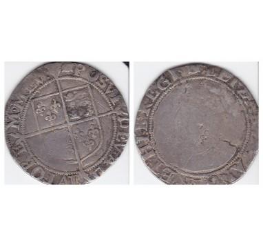Елизавета I. Шиллинг 1592-95г.г.