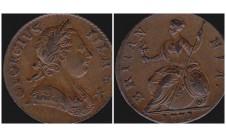 Георг III. Пол пенни 1771г.
