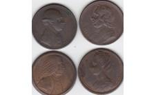 1773-1775 г.г. Серия медалей Кирка.