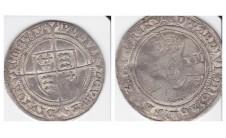 Эдуард VI шиллинг 1551-53 г.г.