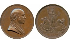1854 год. WILLIAM WYON: LAUDATORY MEDAL