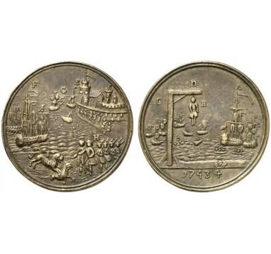 1743г. Сражение при Тулоне