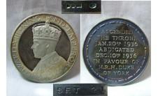 1936 г. (1966г.)  Отречение от престола Эдуарда VIII