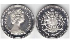 Елизавета II фунт 1983г.