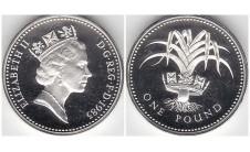Елизавета II фунт 1985г.