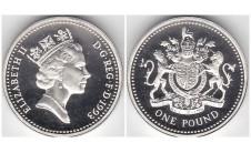 Елизавета II фунт 1993г.