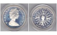 Елизавета II 25 пенсов 1980г.